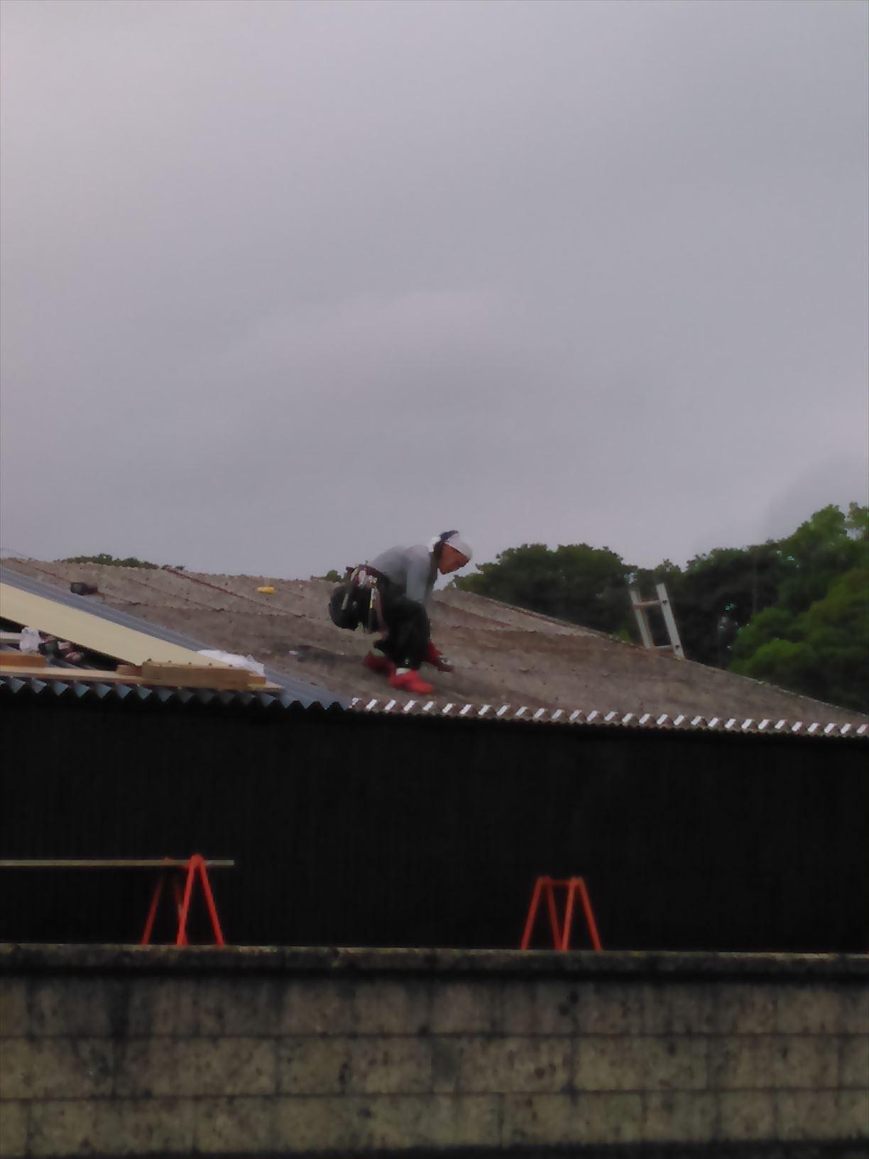 施工事例:栃木県芳賀町 雨漏り修理前の屋根