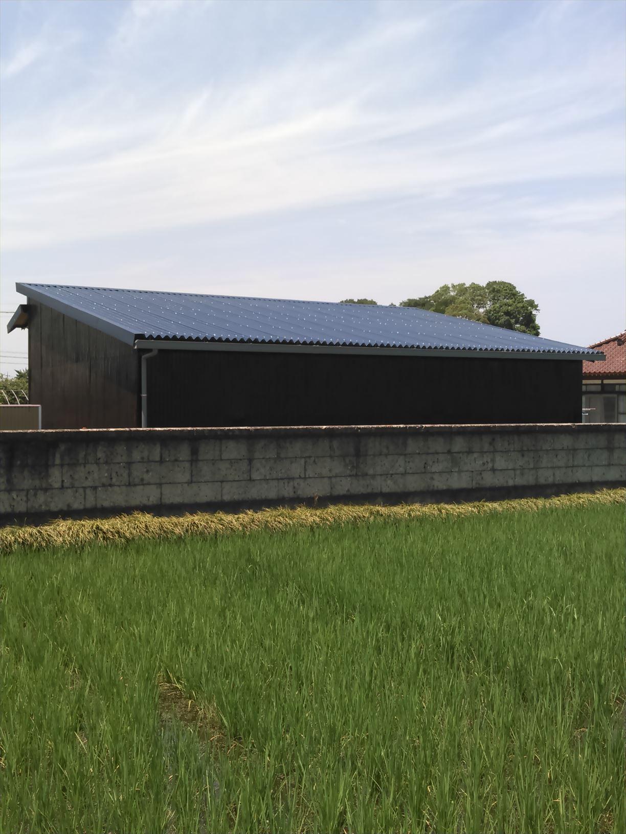 施工事例:栃木県芳賀町 雨漏り修理後の屋根